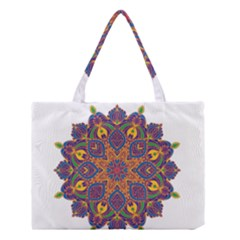 Ornate mandala Medium Tote Bag