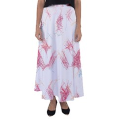 Doodles                    Flared Maxi Skirt