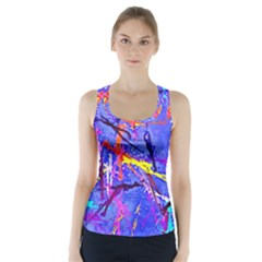 Paint Splashes                        Racer Back Sports Top