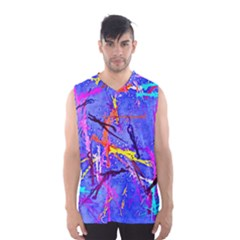 Paint splashes                       Men s Basketball Tank Top