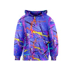 Paint splashes                       Kid s Pullover Hoodie