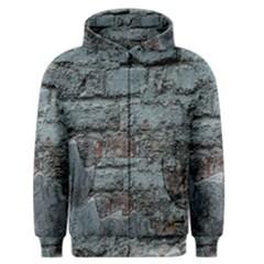 Concrete wall                        Men s Zipper Hoodie