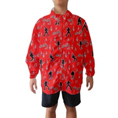 Elvis Presley  pattern Wind Breaker (Kids)