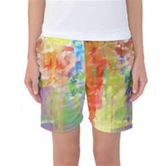 Paint texture                  Women s Basketball Shorts
