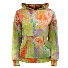 Paint texture                        Women s Pullover Hoodie
