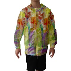 Paint texture                        Hooded Wind Breaker (Kids)