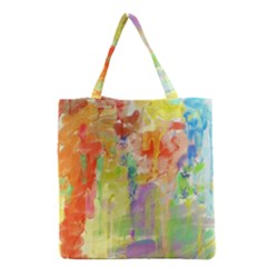 Paint texture                        Grocery Tote Bag