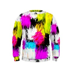 Colorful blurry paint strokes                          Kid s Sweatshirt