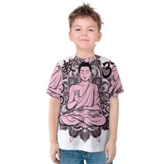 Ornate Buddha Kids  Cotton Tee