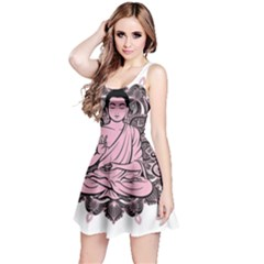 Ornate Buddha Reversible Sleeveless Dress
