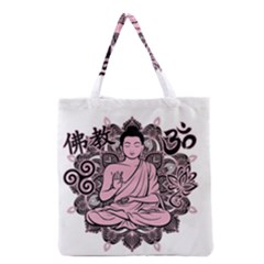Ornate Buddha Grocery Tote Bag