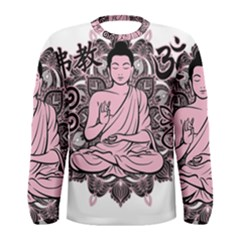 Ornate Buddha Men s Long Sleeve Tee