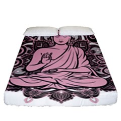 Ornate Buddha Fitted Sheet (Queen Size)