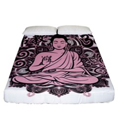 Ornate Buddha Fitted Sheet (California King Size)