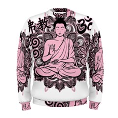 Ornate Buddha Men s Sweatshirt