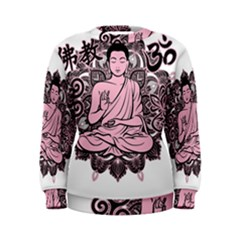 Ornate Buddha Women s Sweatshirt