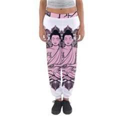 Ornate Buddha Women s Jogger Sweatpants