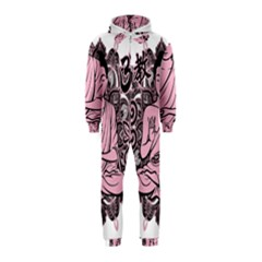 Ornate Buddha Hooded Jumpsuit (Kids)