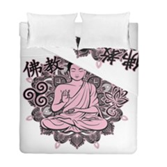 Ornate Buddha Duvet Cover Double Side (Full/ Double Size)