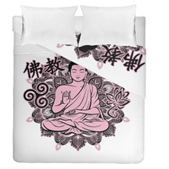 Ornate Buddha Duvet Cover Double Side (Queen Size)