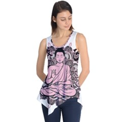 Ornate Buddha Sleeveless Tunic