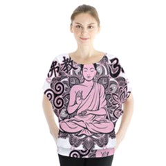 Ornate Buddha Blouse