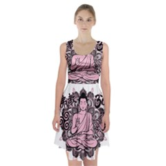 Ornate Buddha Racerback Midi Dress