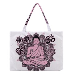 Ornate Buddha Medium Tote Bag