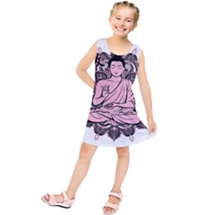 Ornate Buddha Kids  Tunic Dress