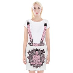 Ornate Buddha Braces Suspender Skirt