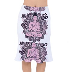 Ornate Buddha Mermaid Skirt