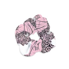 Ornate Buddha Velvet Scrunchie