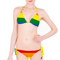Pride rainbow flag Bikini Set