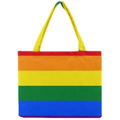 Pride rainbow flag Mini Tote Bag