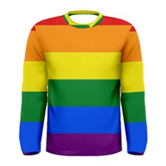 Pride rainbow flag Men s Long Sleeve Tee