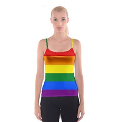 Pride rainbow flag Spaghetti Strap Top