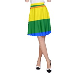 Pride rainbow flag A-Line Skirt