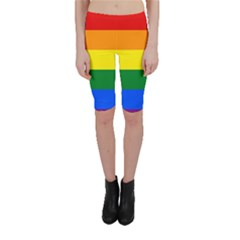 Pride rainbow flag Cropped Leggings