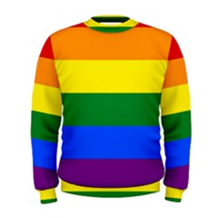 Pride rainbow flag Men s Sweatshirt
