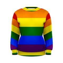 Pride rainbow flag Women s Sweatshirt