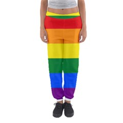 Pride rainbow flag Women s Jogger Sweatpants