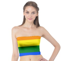 Pride rainbow flag Tube Top