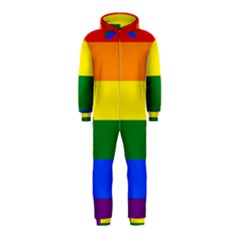 Pride rainbow flag Hooded Jumpsuit (Kids)