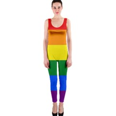 Pride rainbow flag OnePiece Catsuit
