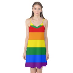 Pride rainbow flag Camis Nightgown