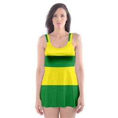 Pride rainbow flag Skater Dress Swimsuit