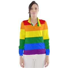 Pride rainbow flag Wind Breaker (Women)