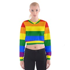 Pride rainbow flag Cropped Sweatshirt