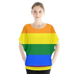 Pride rainbow flag Blouse