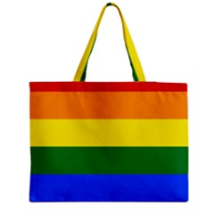 Pride rainbow flag Medium Tote Bag